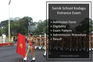 Sainik School Kodagu Entrance Exam 2018: Admission Process