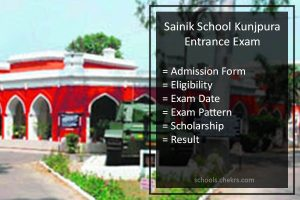 Sainik School Kunjpura Entrance Examination 2018- Admission Form