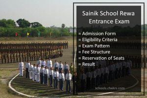 Sainik School Rewa Admission Process 2018: Details Available