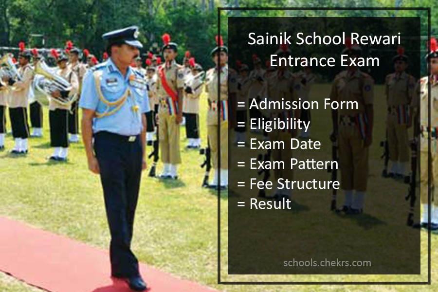 Sainik School Rewari Entrance Examination 2017 Details Available