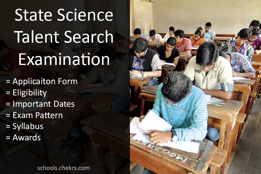 SSTSE 2017- State Science Talent Search Examination, Rajasthan