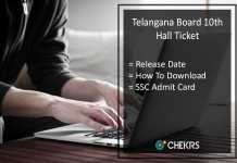 Telangana Board 10th Hall Ticket, BSETS SSC Hall Ticket Release Date