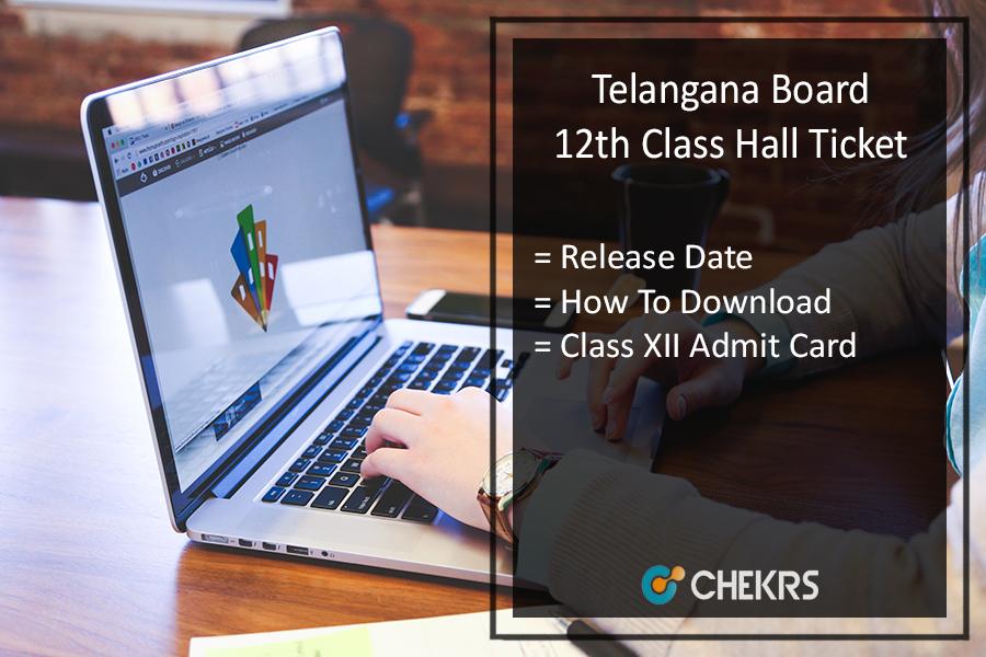 Telangana Board 12th Hall Ticket, TS Board 2nd Year Admit Card