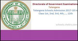 Telangana Schools Entrance Exam 2017- Admission Process, Dates, Eligibility