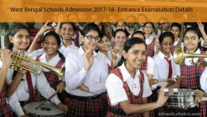 West Bengal (WB) School Entrance Exam 2017- Admission Process