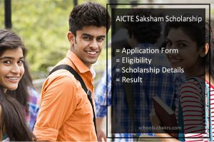 AICTE Saksham Scholarship 2017- Application Form, Apply Online