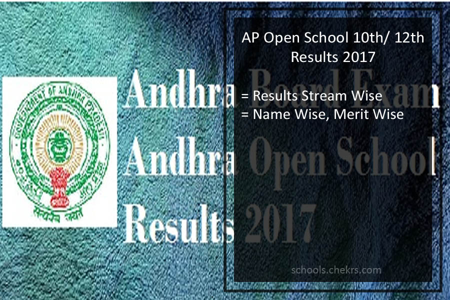 AP Open School 10th/ Intermediate Result 2017- APOSS SSC/ 12th Results