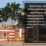 Birla Public School Pilani Admissions 2017- Form, Dates, Process