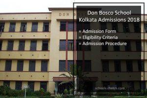 Don Boso School Kolkata Admissions 2018- Form, Dates, Procedure