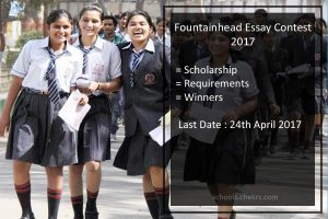 Fountainhead Essay Contest Scholarship 2017- Topics, Requirements, Winners, aynrand.org