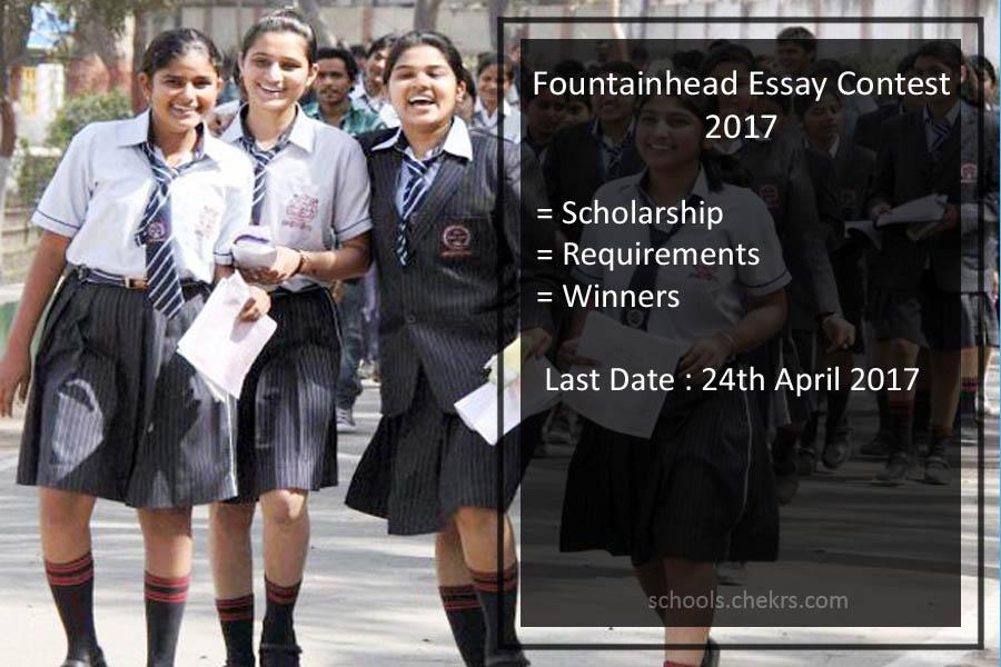 Fountainhead Essay Contest Scholarship 2017- Topics, Requirements ...