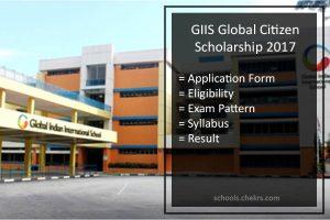 GIIS Singapore Global Citizen Scholarship 2017- Application Form