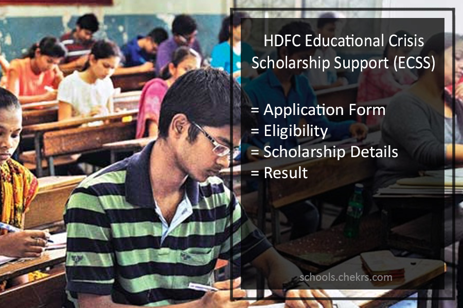 Educational Crisis Scholarship Support (ECSS) - HDFC Bank