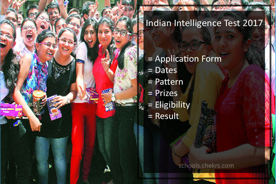 Indian Intelligence Test {IIT} Application, Exam Dates, Syllabus