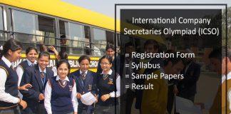International Company Secretaries Olympiad (ICSO) 2018 - Apply