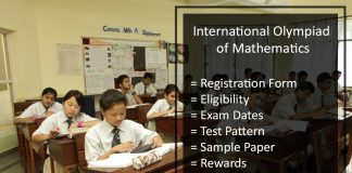 International Olympiad of Mathematics - Registration Form
