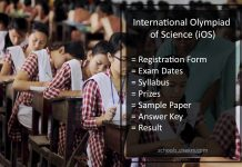 SilverZone International Olympiad of Science (iOS) - Details