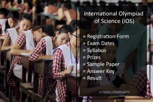 SilverZone International Olympiad of Science (iOS) - Details