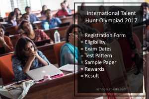 SilverZone International Talent Hunt Olympiad (iTHO)