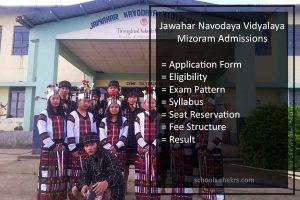 Jawahar Navodaya Vidyalaya (JNV) Admissions 2018 in Mizoram