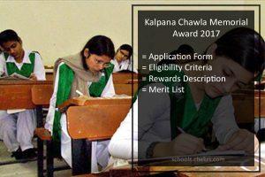 Kalpana Chawla Memorial Award- Apply Online, Result, kalpanachawlaawards.com