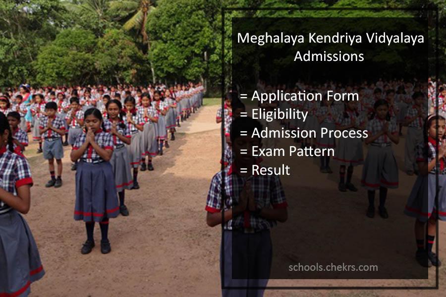 Kendriya Vidyalaya (KVS) Shillong Admissions 2017- Application Form