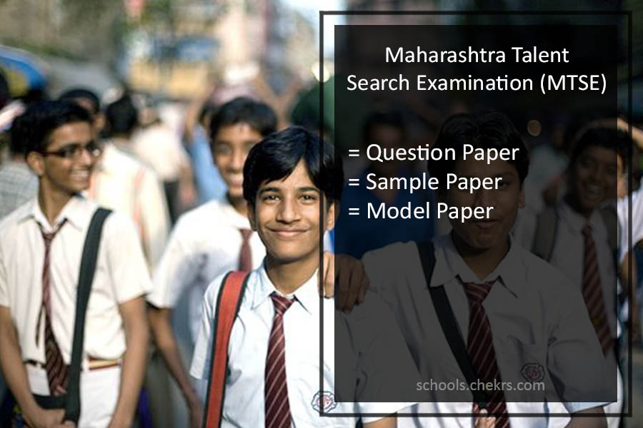 Maharashtra Talent Search Examination Question Paper- Sample Paper