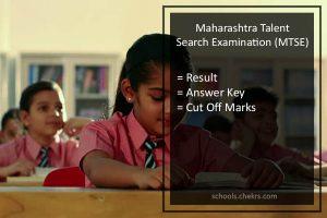 Maharashtra Talent Search Examination (MTSE) Result- Download PDF