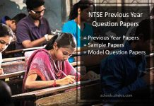 NTSE Previous Year Question Papers- Sample/ Model Papers PDF Download