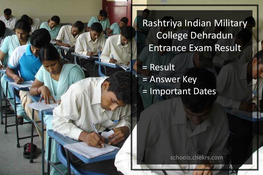 RIMC Dehradun Entrance Exam Result 2017- Answer Key, PDF, Dates