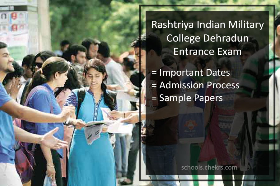 RIMC Dehradun Admissions Exam - Online form, Syllabus, Papers