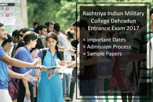 RIMC Dehradun Admission Process, exam syllabus