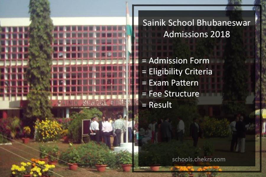 Sainik School Bhubaneswar Admissions 2018- Admission Form, AISSEE