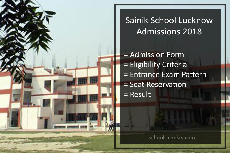 Sainik School Lucknow Admission Form 2018- AISSEE, Form, Dates