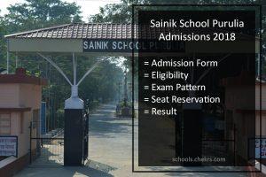 Sainik School Purulia Admissions 2018 - AISSEE Form, Pattern