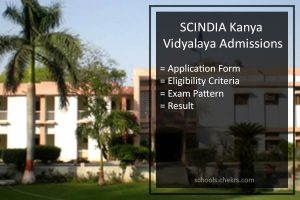 SCINDIA Kanya Vidyalaya Admissions 2018- Admission Form Available