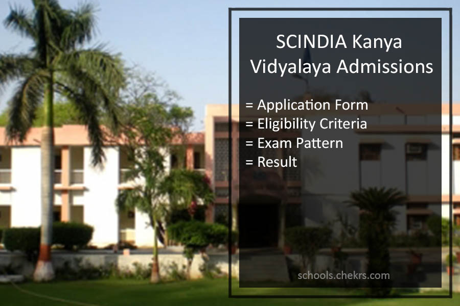 SCINDIA Kanya Vidyalaya Admissions 2018- Admission Form Available
