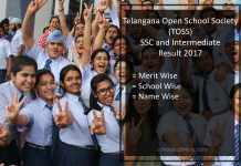 TOSS Open School SSC /Intermediate Result- TS Telangana Inter Results