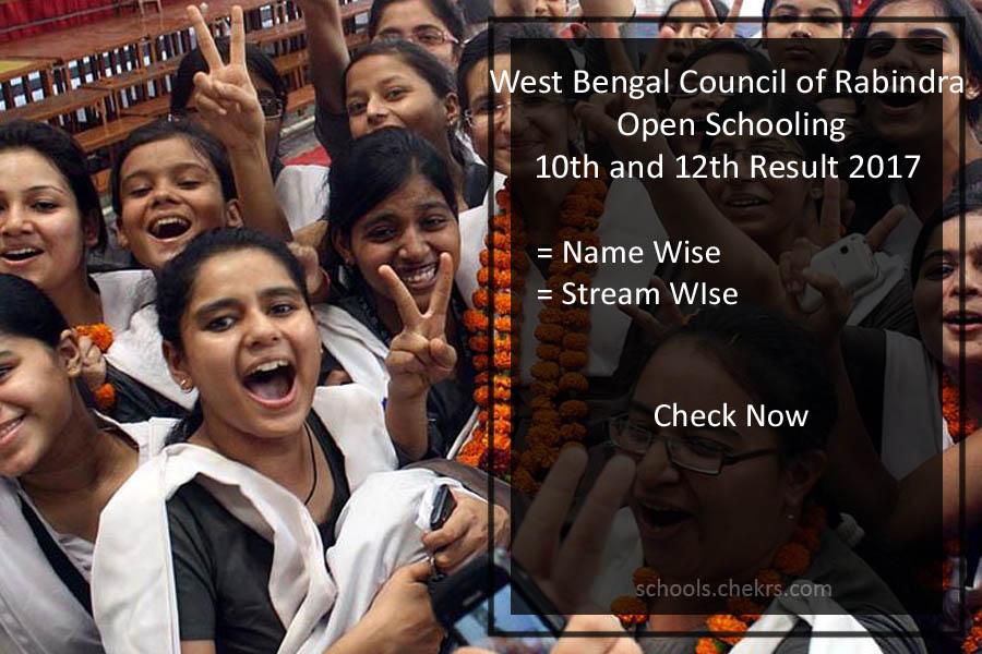 WBCROS Madhyamik /HS Result- Rabindra Open School Results June