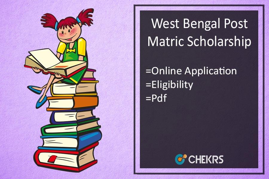 wb post matric scholarship