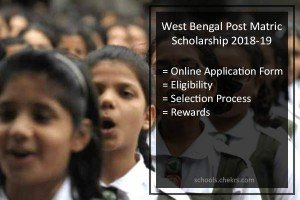 West Bengal Post Matric Scholarship 2018-19- Online Form Apply Now