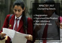 APRJC CET Counselling - Dates, Procedure, Seat Allotment Result