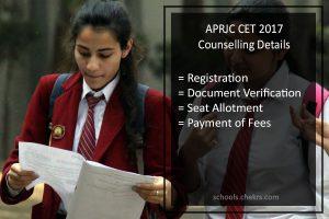 APRJC CET Counselling - Dates, Procedure, Seat Allotment Result