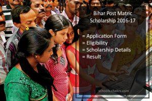 Bihar Scholarship Online Application Form, Status, Post Matric OBC/ SC/ ST/ Minority