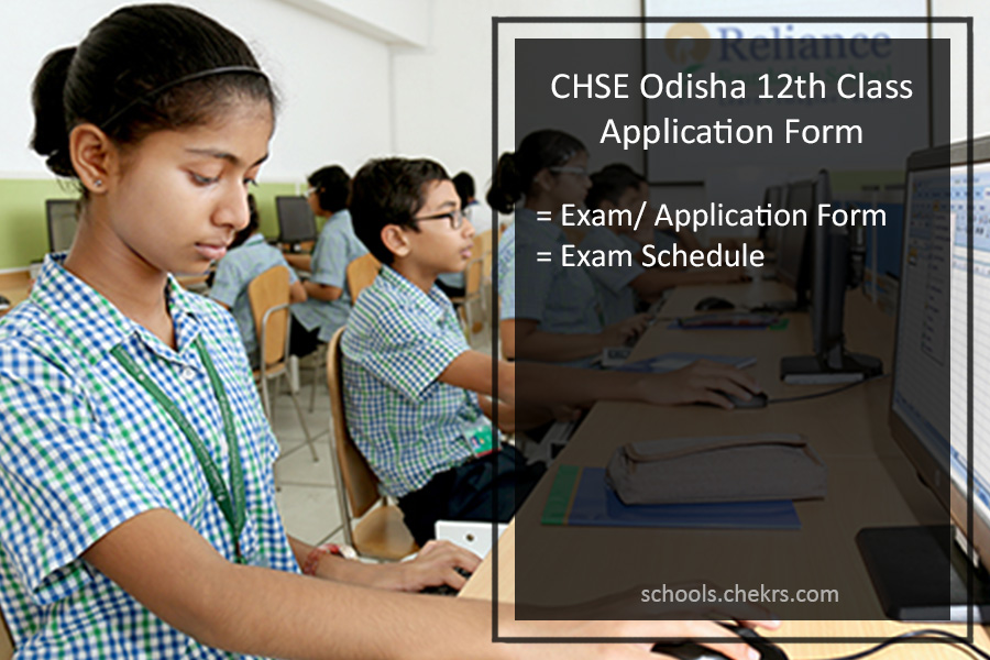CHSE Odisha 12th Class Application Form, Register @chseodisha.nic.in