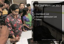 FYJC 2nd Merit List- First Year Junior College Second Admission List Date