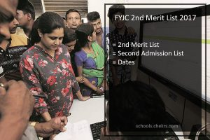 FYJC 2nd Merit List- First Year Junior College Second Admission List Date