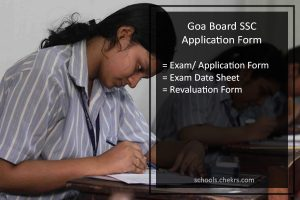 Goa Board SSC Application Form, GBSHSE Class 10th Registration