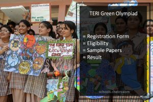 Green Olympiad By TERI - Registration Form, Sample Papers