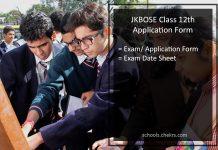 JKBOSE 12th Class Application Form, Register @jkbose.co.in
